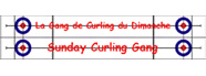 Logo: Sunday Curling Gang
