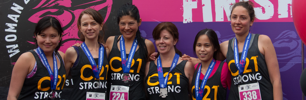 Woman 2 Warrior - C21 Strong Team