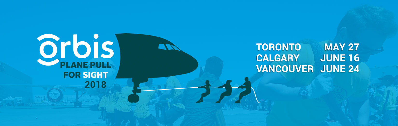 Plane Pull For Sight - 2018: Toronto, Calgary, Vancouver
