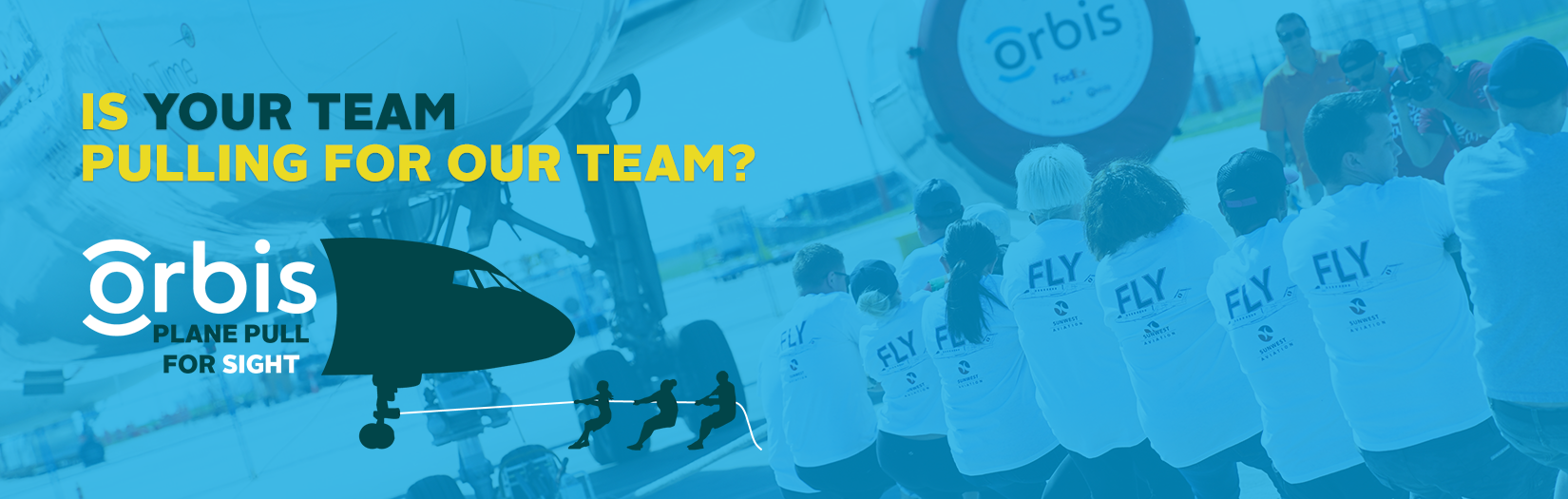 Plane Pull for Sight 2019: Toronto, Calgary, Vancouver