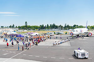Event aerial shot