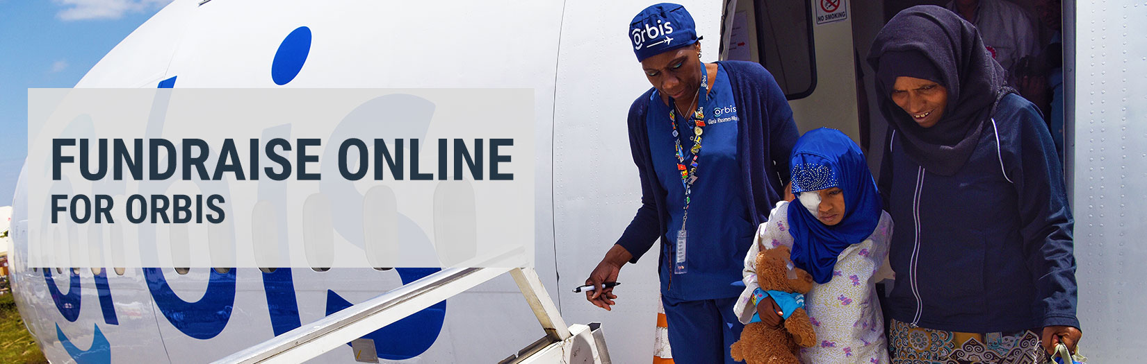 Fundraise Online - Orbis Volunteer and Patient