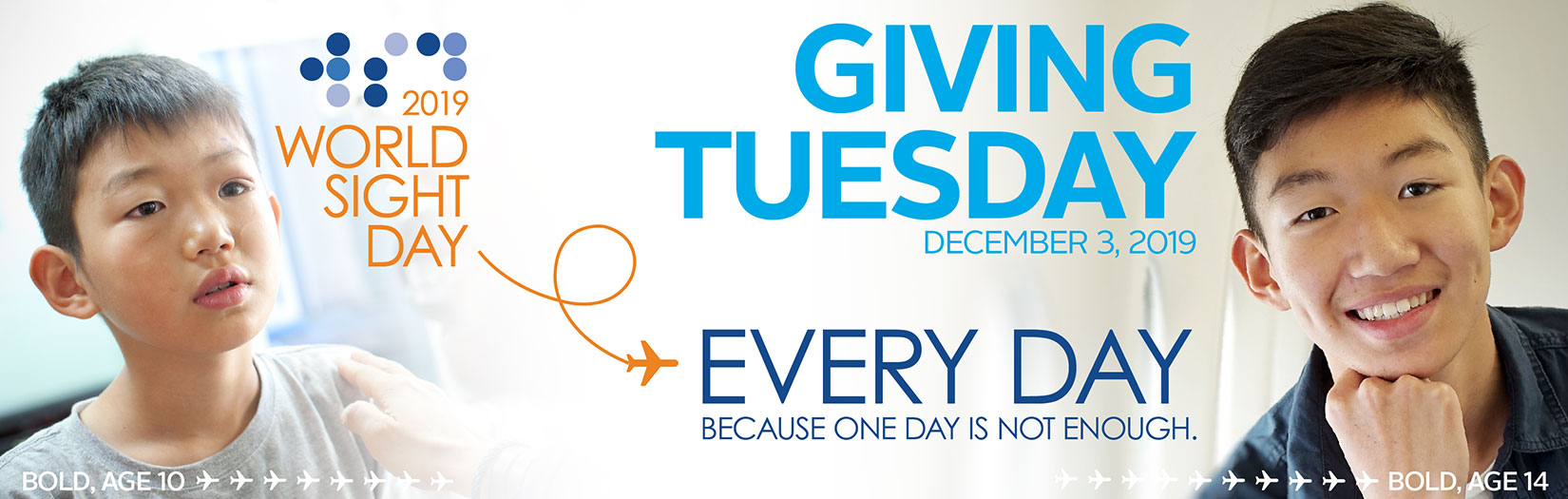 World Site Day - Giving Tuesday Banner