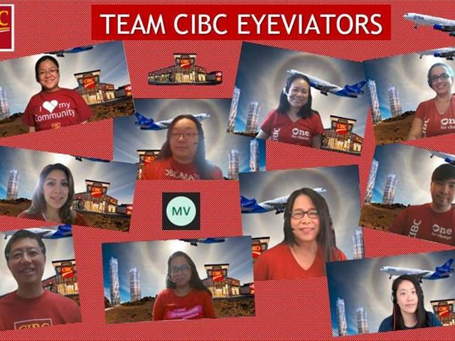 CIBC Eyeviators - Team Photo