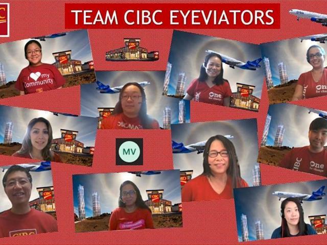 Team CIBC - Team Photo