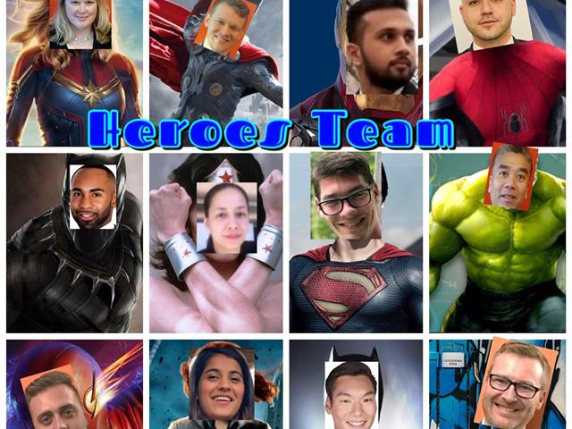 FedEx Hero Team - Team Photo
