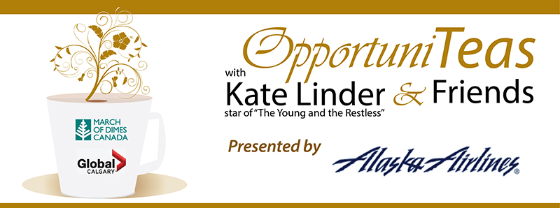 OpportuniTeas Calgary with Kate Linder and Friends April 27 2014
