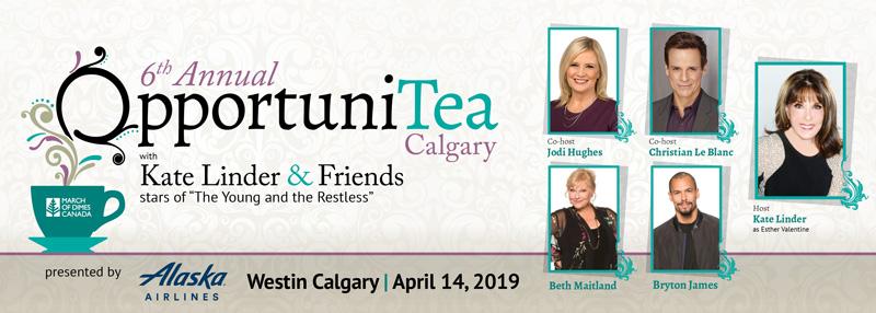Celebrity Tea - Calgary 2019 - OpportuniTeas Calgary 2019
