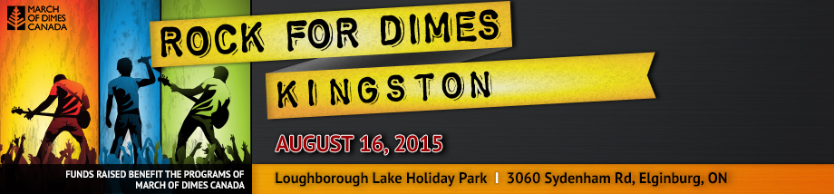 Rock for Dimes Kingston - August 16