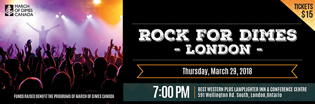 Rock for Dimes London